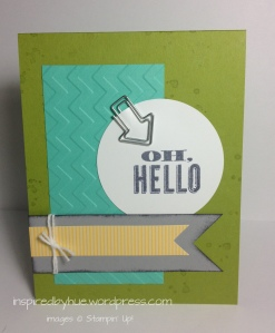Stampin' Up! Oh Hello Again
